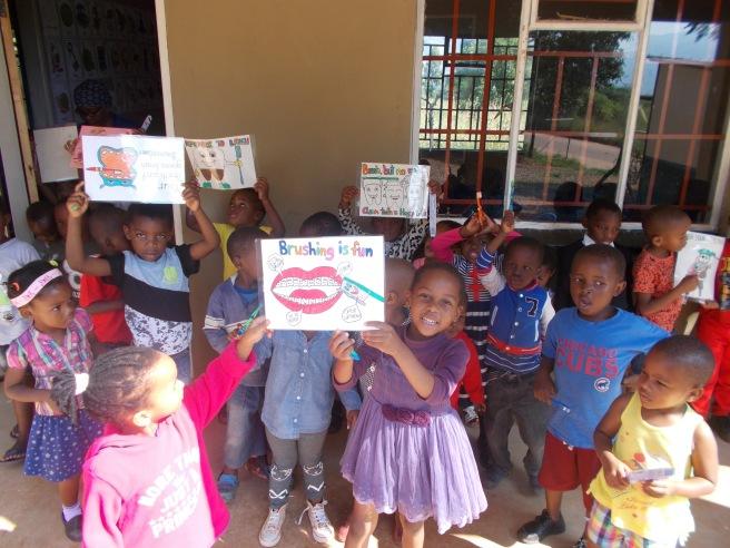 Mvutjini ncp- toothbrushing campaign